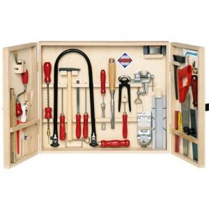 kinder werkzeugkoffer die besten sets echtes werkzeug. Black Bedroom Furniture Sets. Home Design Ideas