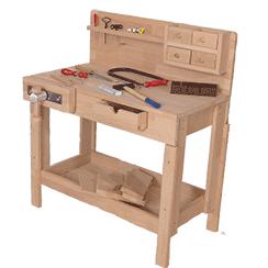 Kinderwerkbank Holz - Test || Werkbänke für Kinder im Check
